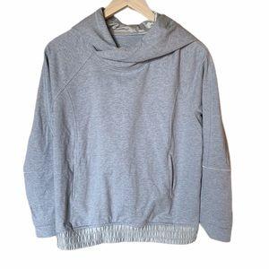 Lululemon gray pullover sweatshirt size 4/6